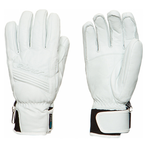 Lyžařské rukavice Ziener KILDARA AS PR bílá