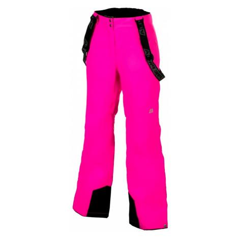 Dámské lyžařské kalhoty Alpine Pro MINNIE 2 - růžová