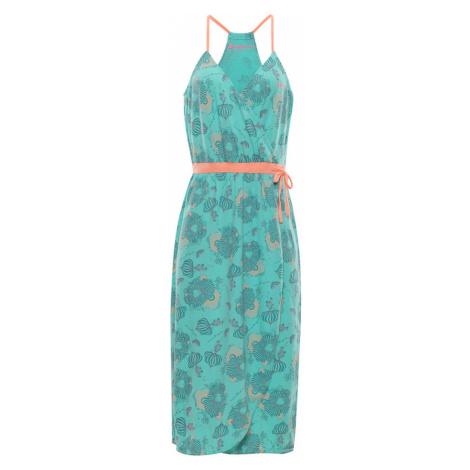 ALPINE PRO BALERA Dámské šaty LSKN153547PA Cockatoo
