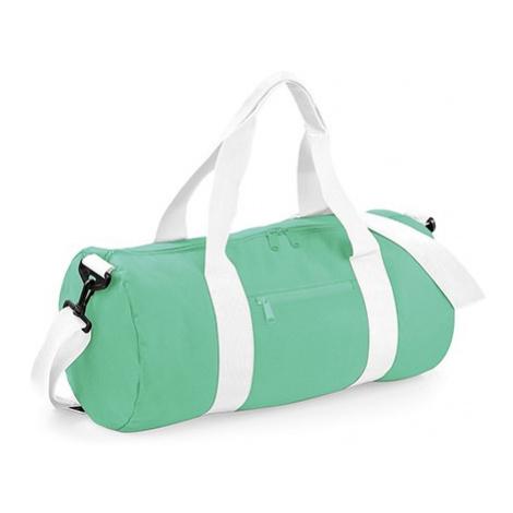 Barel taška BB - máta zelená/bílá