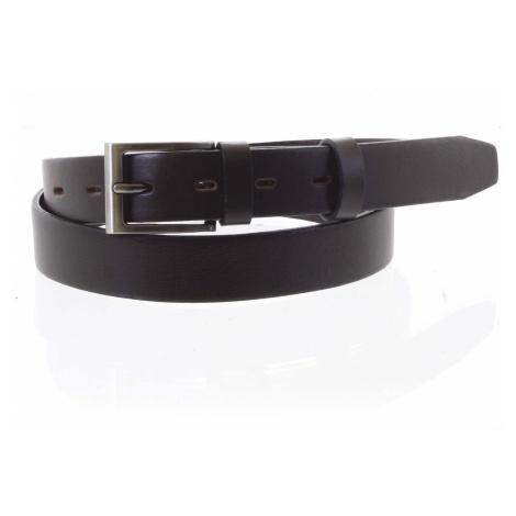Pánský kožený opasek oblekový hnědý - PB Asiel 95 Penny Belts