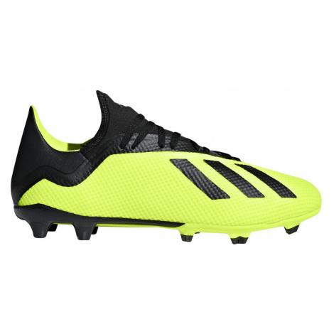 Kopačky Adidas X 18.3 FG Žlutá / Černá
