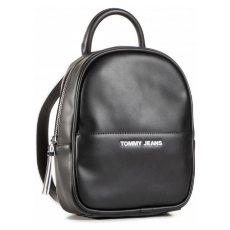 Tommy Hilfiger Tommy Jeans dámský černý batoh FEMME MINI BACKPACK