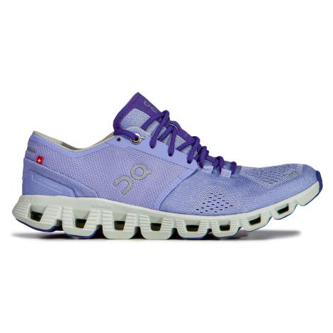 Běžecké boty On Running CLOUD X WOMAN fialová