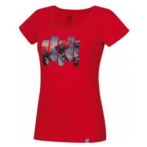 HANNAH ARMELA Dámské triko 10003062HHX01 Rouge red