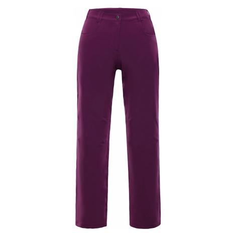 Dámské kalhoty Alpine Pro OMINECA - tmavě fialová