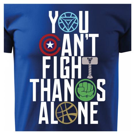 Pánské tričko s motivem Avengers 2 Infinity war BezvaTriko