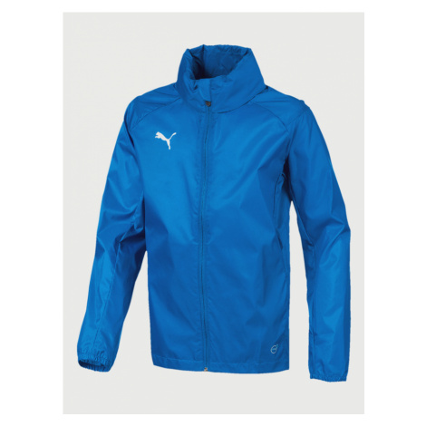 Liga Training Rain Core Bunda dětská Puma Modrá