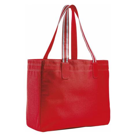 SOĽS Nákupní taška RIMINI 71900145 Red SOL'S