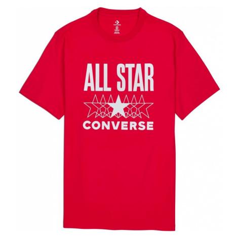 TRIKO CONVERSE ALL STAR S/S - červená