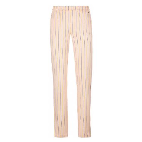 S.Oliver Pyžamové kalhoty růžová / žlutá / tmavě modrá / bílá