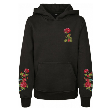 Kids Flowers Cropped Hoody Urban Classics