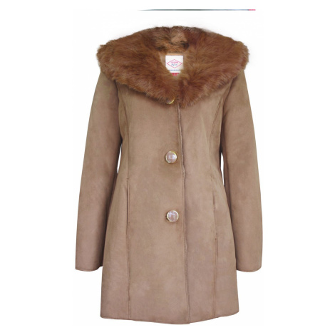 Lee Cooper Faux Suede Parka Dámský kabát 66111099