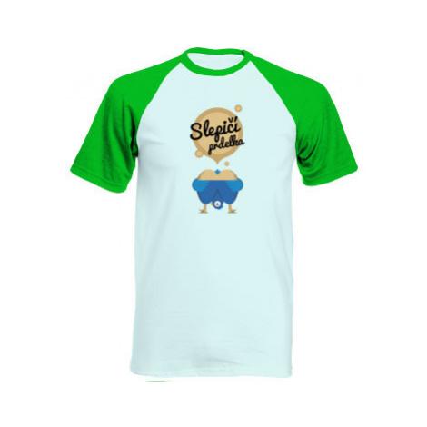 Pánské tričko Baseball Slepičí prdelka