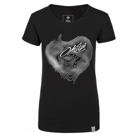 KILPI Dámské bavlněné tričko YANI-W JL0228KIBLK Černá