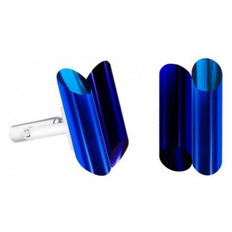 Preciosa Ocelové manžetové knoflíčky s krystaly Neon Collection by Veronica 70
