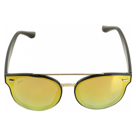 Sunglasses June - black/gold Urban Classics