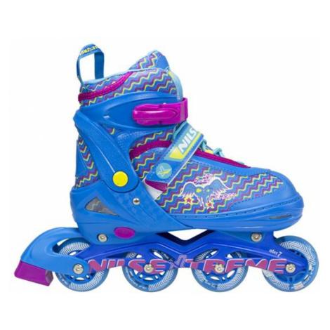 Dětské kolečkové brusle NILS Extreme NJ 4613 modré