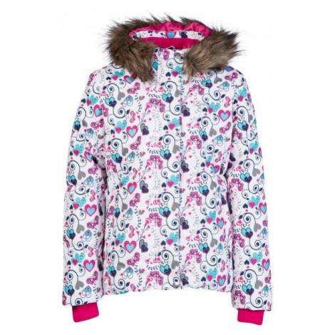 Lewro LATA bílá - Dětská zimní bunda