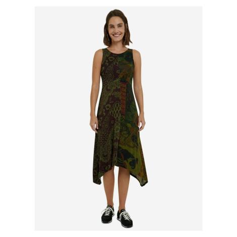 Nice Šaty Desigual Zelená