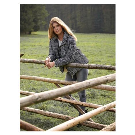 Top Secret Bunda dámská péřová s kapucí