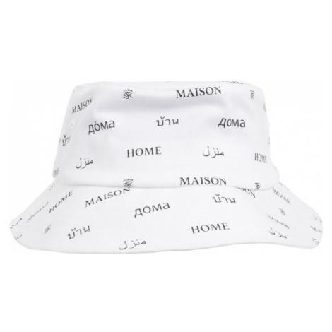Maison Bucket Hat - white Mister Tee