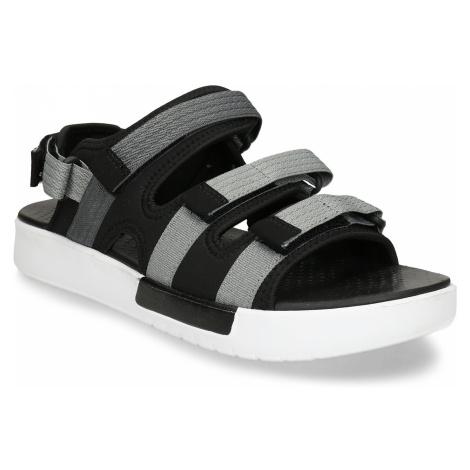 Šedočerné pánské sandály Baťa