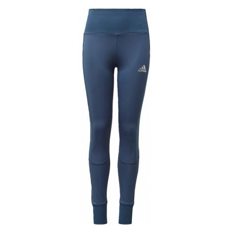 ADIDAS PERFORMANCE Sportovní kalhoty 'Comfort Workout' modrá / bílá