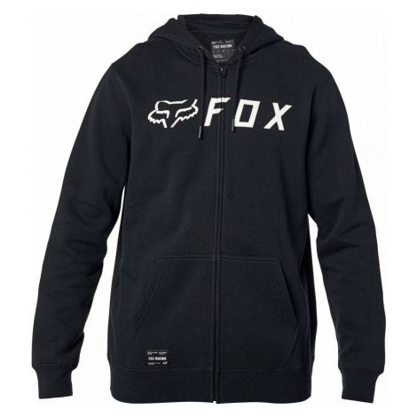 Mikina Fox Apex Zip Fleece black/white