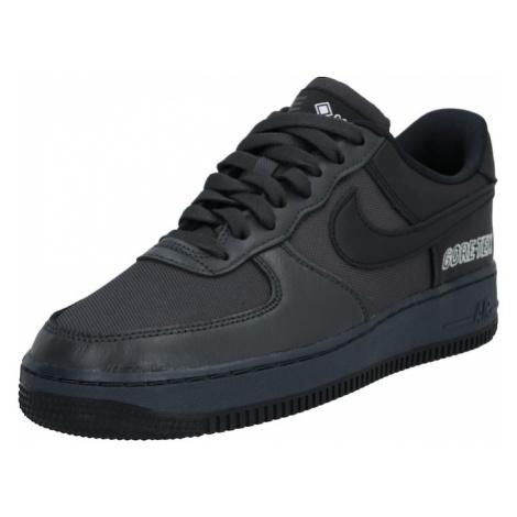 Nike Sportswear Tenisky 'Air Force 1' černá / bílá
