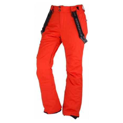NORTHFINDER LOXLEY Pánské 2L lyžařské kalhoty NO-3573SNW360 červená