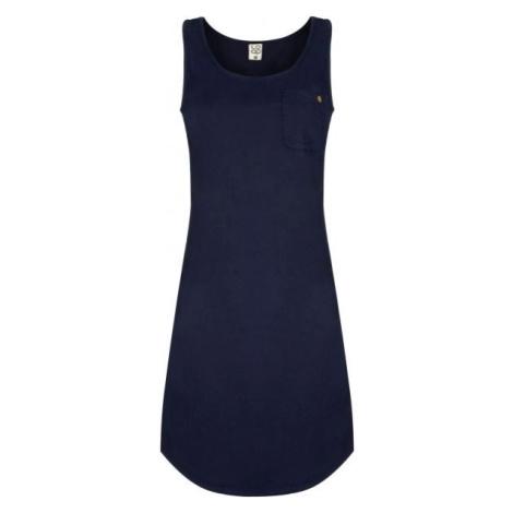Loap NICOL tmavě modrá - Dámské šaty