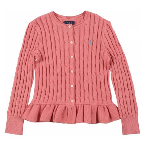 Polo Ralph Lauren Kardigan pink / světlemodrá