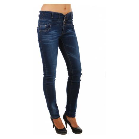 Dámské džíny s vysokým pasem