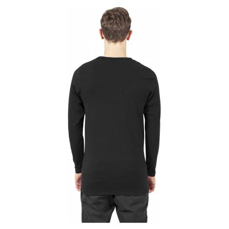 Pánské tričko s dlouhým rukávem Flex černé Urban Classics