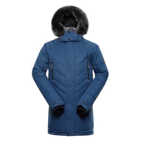 Icyb 6 modrá pánská zimní bunda s membránou ptx ALPINE PRO
