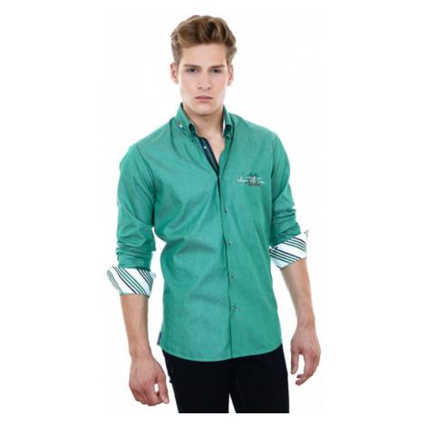 PONTTO košile pánská 8001-03 dlouhý rukáv