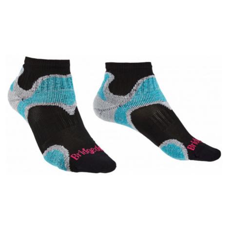 Ponožky Bridgedale Trailsport UL T2 MC Ankle Women's black/846
