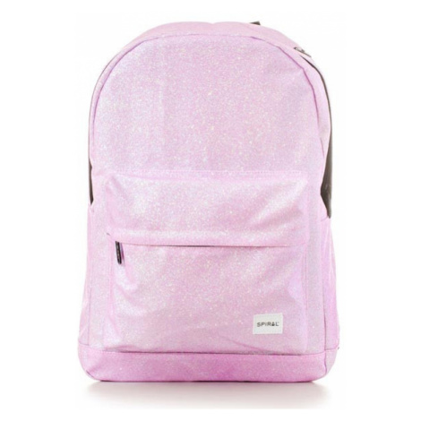 Batoh Spiral Glitter Backpack Bag Pink