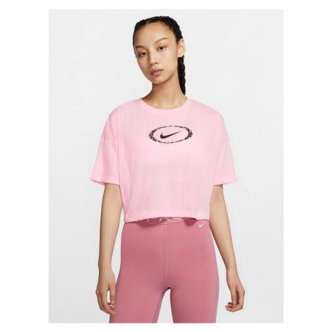 Dri-Fit Crop top Nike Růžová