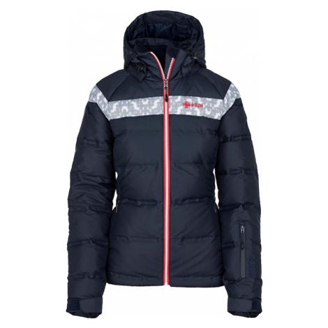 Dámská zimní péřová bunda KILPI SYNTHIA-W tmavě modrá
