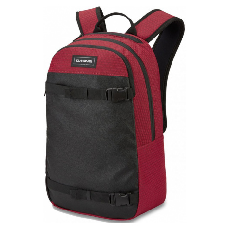 Batoh Dakine URBN Mission crimson red 22l