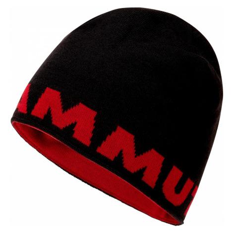 Čepice Mammut Logo Beanie Black