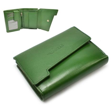 Barevná peněženka dámská kožená Cavaldi