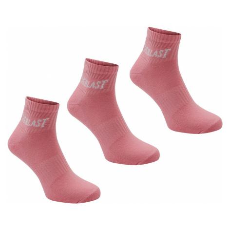Everlast Quarter Sock 3 Pack Ladies
