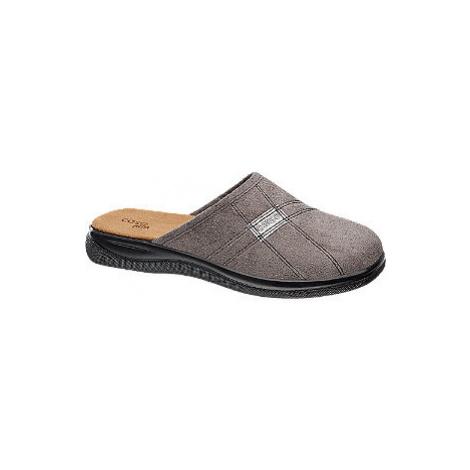 Šedé papuče Casa mia