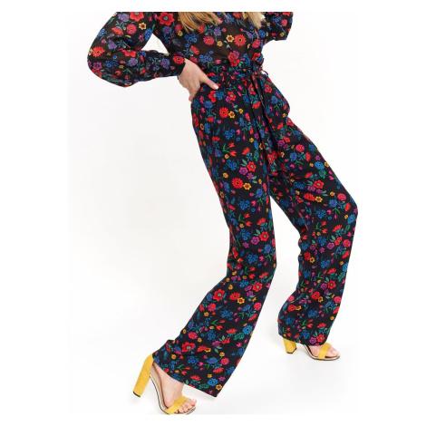 Dámské kalhoty Top Secret Floral Patterned