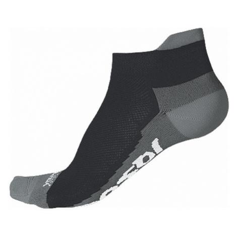 Ponožky SENSOR Race Coolmax Invisible černá/šedá