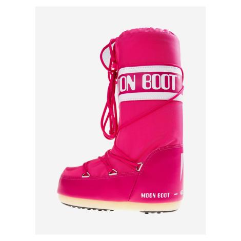 MB Nylon Sněhule Moon Boot Růžová