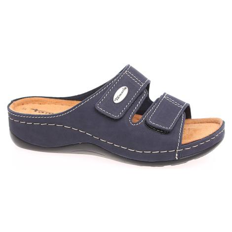 Dámské pantofle Tamaris 1-27510-26 navy